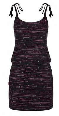 LOAP Dámske šaty Bama Tap Shoe Black Allover CLW1938-V21VY XS