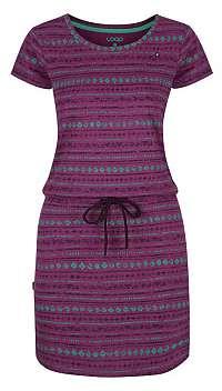 LOAP Dámske šaty Bereta Clover Pink Allover CLW1934-J45JY S