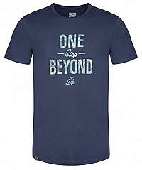 LOAP Pánske tričko Beyond Dress Blue Melange CLM1981-L13XL M