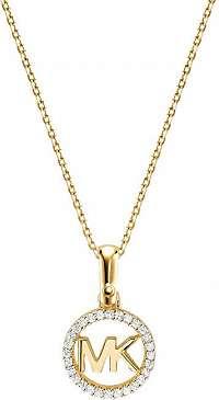 Michael Kors Strieborný náhrdelník s trblietavým príveskom MKC1108AN710