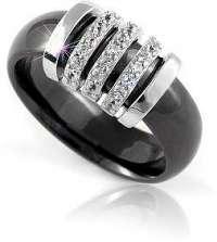 Modesi Keramický prsteň QJRQY6267KL 56 mm