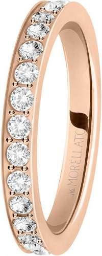 Morellato Bronzový prsteň s kryštálmi Love Rings SNA40 mm