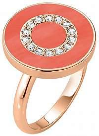 Morellato Bronzový prsteň zo striebra s kryštálmi Perfetti SALX18 56 mm