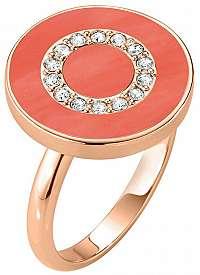 Morellato Bronzový prsteň zo striebra s kryštálmi Perfetti SALX18 58 mm