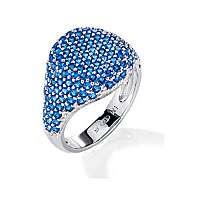 Morellato Elegantný strieborný prsteň Tesoro SAIW12 mm