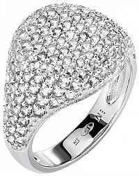 Morellato Luxusné trblietavý prsteň zo striebra Tesoro AIW65 56 mm
