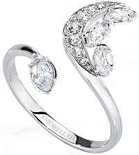 Morellato Oceľový prsteň s polmesiacom Luna SAIZ14 mm