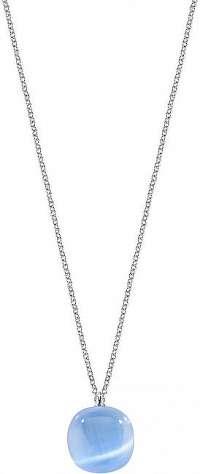Morellato Strieborný náhrdelník zdobený mačacím okom SAKK03 (retiazka, prívesok)