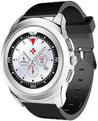MyKronoz Hybridné hodinky ZeTime Original Silver/Black -mm