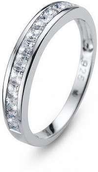 Oliver Weber Originálne prsteň s kryštálmi Foursquare 63231 S (49 - mm)