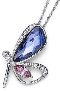 Oliver Weber Romantický náhrdelník Motýľ Ocean Farfalla 11697