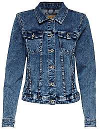 ONLY Dámska džínsová bunda ONLTIA 15170682 Medium Blue Denim
