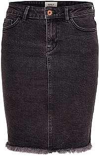 ONLY Dámska sukňa Lelila 15155121 Medium Grey
