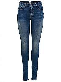 ONLY Dámske džínsy ONLSHAPE REG CZ DNM JEANS REA4488 Noos Dark Blue Denim