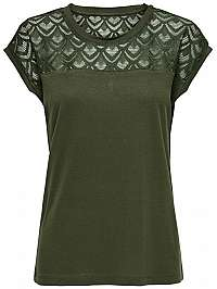 ONLY Dámske tričko ONLNICOLE S / S MIX TOP Noosa Crocodile XS