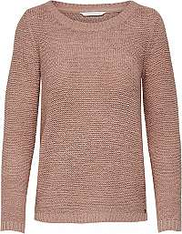 ONLY Dámsky sveter ONLGEENA XO L / S Pullover KNT Noosa Mist y Rose S