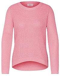 ONLY Dámsky sveter Shiny L/S Pullover Knt Bubblegum W.Ballet Slipp S