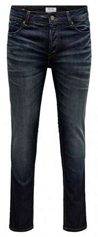 ONLY&SONS Pánske džínsy onsLOOM SLIM BLUE RM61 Blue Denim