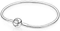 Pandora Pevný strieborný náramok 590728 18 cm
