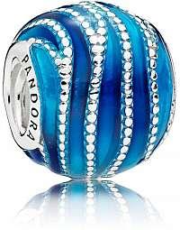 Pandora Prekrásny modrý korálku 797012ENMX