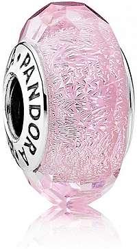 Pandora Romantický ružový korálku 791650