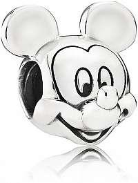 Pandora Strieborný korálik Disney Mickey Mouse 791586
