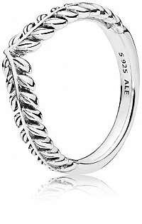 Pandora Strieborný prsteň s obilnými klasmi 197681 mm