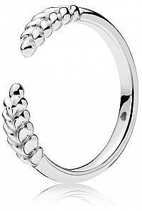 Pandora Strieborný prsteň s obilnými klasmi 197699 mm