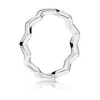 Pandora Štýlový strieborný prsteň 197752 mm