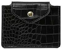 Pieces Dámska peňaženka na karty PCFERI WALLET D2D Black
