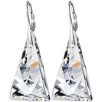 Preciosa Náušnice Crystal Pyramid 6843 00