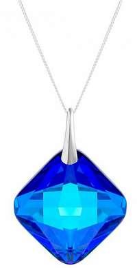 Preciosa Strieborný náhrdelník s kryštálom Millie 6068 (retiazka, prívesok)
