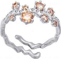 Preciosa Strieborný prsteň Tilia82 61