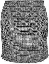Q/S designed by Dámska sukňa.810.78.4506.99N0 Black check M