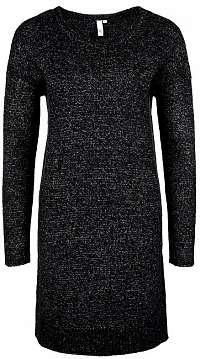 Q/S designed by Dámske šaty.810.82.2495. 99W0 Black melange L