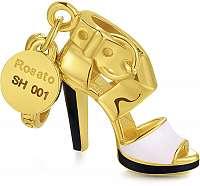 Rosato Pozlátený prívesok My Shoes RSH001