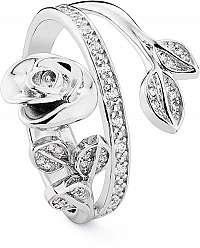 Rosato Strieborný prsteň Messaggi RMH32 mm