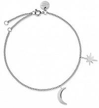 Rosefield Oceľový náramok Moon and Star MSBS-J233