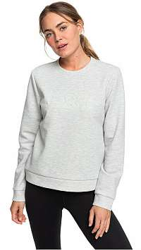 Roxy Dámska mikina Loose Yourself Heritage Heather ERJFT04048-SGRH XL