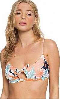 Roxy Dámska plavková podprsenka Swim The Sea Bralette Peach Blush Bright Skies S ERJX304096-MDT6 S