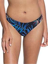 Roxy Dámske plavkové nohavičky Lahaina Bay Bsc Mini Bottom Anthracite Wild Leaves S ERJX403964-KVJ8 L