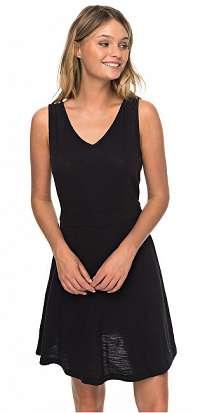 Roxy Dámske šaty Buying Time True Black ERJKD03246-KVJ0 M