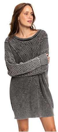 Roxy Dámske šaty Snow Day Anthracite ERJKD03272-KVJ0 M