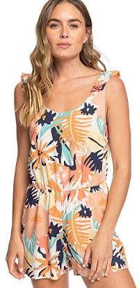 Roxy Dámsky overal Rainbow Palm Peach Blush Bright Skies ERJWD03417-MDT8 M