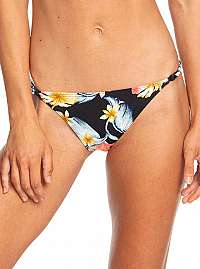 Roxy Plavkové nohavičky Dreaming Day Moderate Bottom Anthracite Tropical Love S ERJX403706-KVJ6 L
