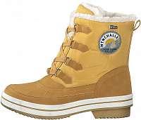 s.Oliver Dámske členkové topánky Mustard Comb. 5-5-26245-33 -610