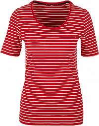 s.Oliver Dámske tričko 04.899.32.6022.31G3 Red stripes