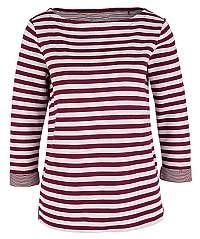 s.Oliver Dámske tričko 04.899.39.5350.49X0 Jewel Red Knit Dessin