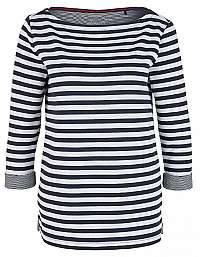 s.Oliver Dámske tričko 04.899.39.5350.59X0 Midnight Blue Knit