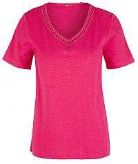 s.Oliver Dámske tričko 14.908.32.7586.4436 Purple/Pink